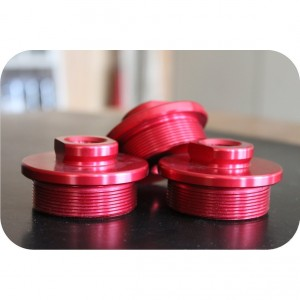 Red Anodized